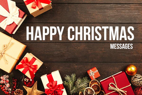 Happy Christmas text Messages