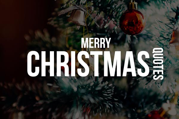 Merry Christmas Quotes in English