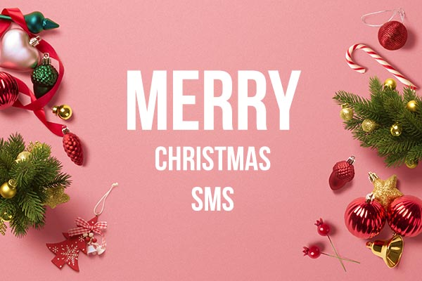Merry Christmas sms in english