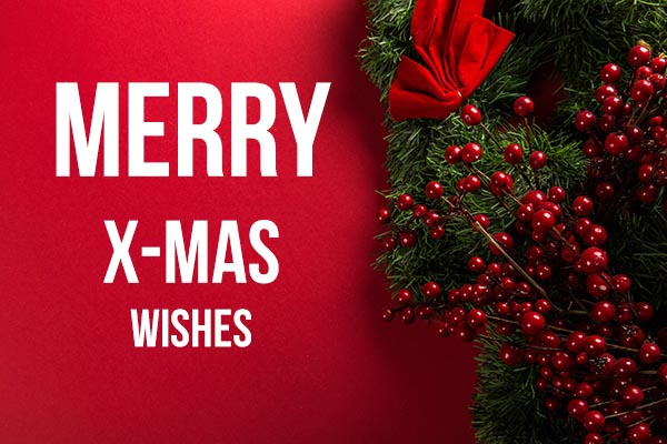 Merry xmas wishes for friends and family