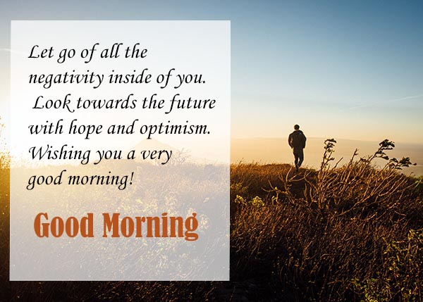 A very Good morning to you