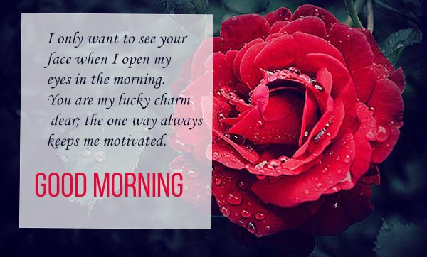 Good Morning Wishes for your lucky day