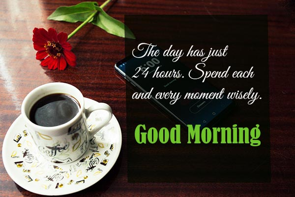 Good Morning the time is only 24 hour so don't wast your time