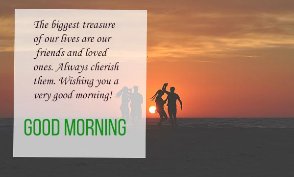 Good Morning wishes to your friends and love
