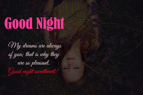 Good Night Messages for Wife and husband