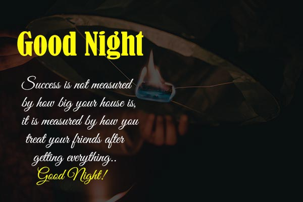 Good Night Wishes and Images for your success