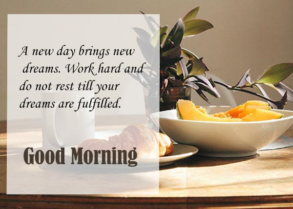 Good morning today is a great day