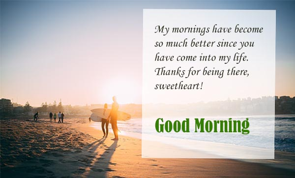 Good morning wishes for your good health