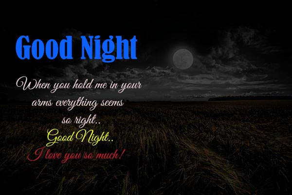 Love You Good Night Messages for Couple