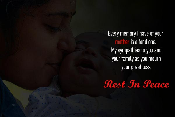Best RIP Messages and Images for Mother