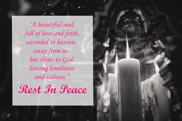 Condolence Messages and Images for Friends and Everyone