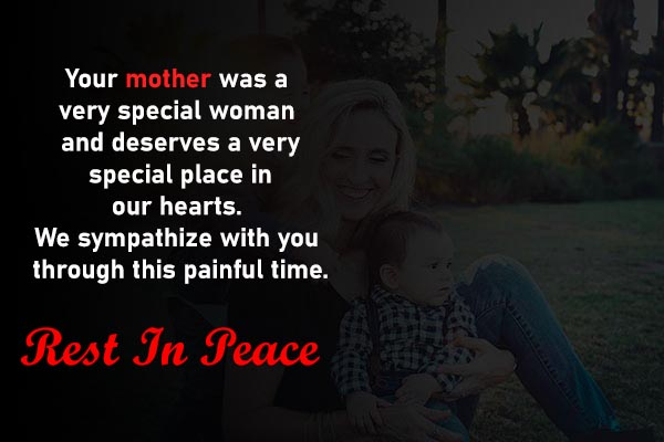 Condolence Messages and Images for friends Mother