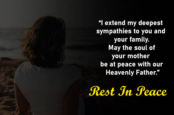 Condolence Messages for Mother and Father