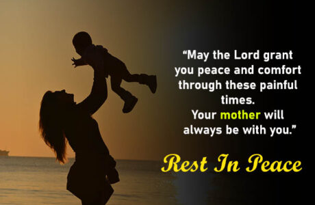 Condolence Messages loss of mother