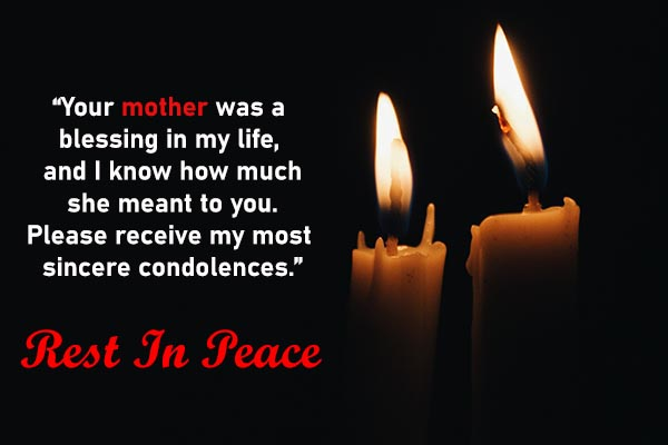 Condolence Messages for Mother