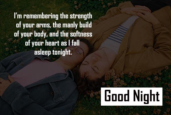 Cute Good Night Sms and Images for Boyfriend