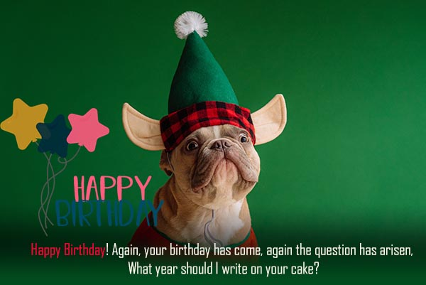 Funny Happy Birthday Quotes for Friend and Everyone