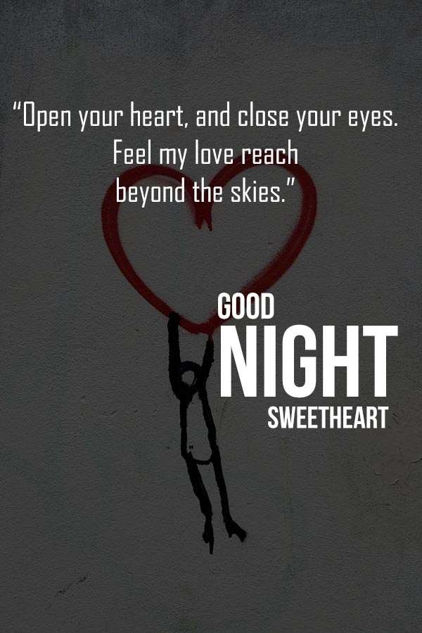 Good Night Love Messages for Husband-wife