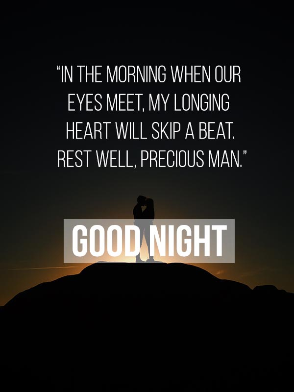 Romantic Good Night Images and Msg for Husband