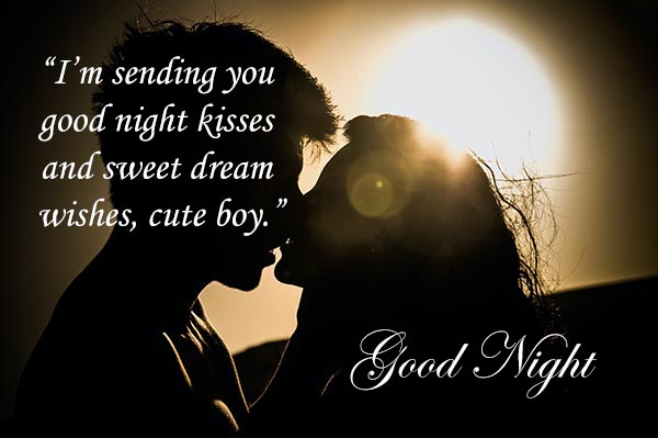 Romantic Good Night Messages and Images for Boyfriend