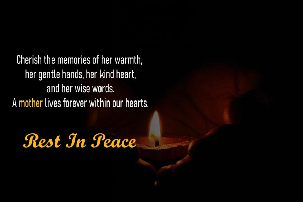 RIP Messages and Images for Girlfriend Mother