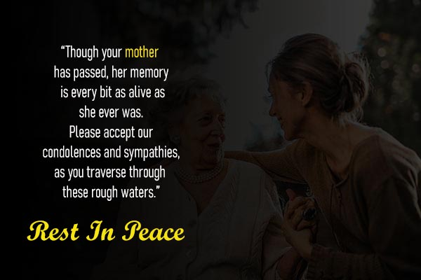 RIP Messages and Images for Lovely Mother