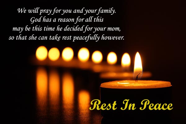 RIP Messages to family and Everyone