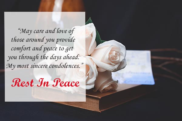 Rest In Peace Messages for Family