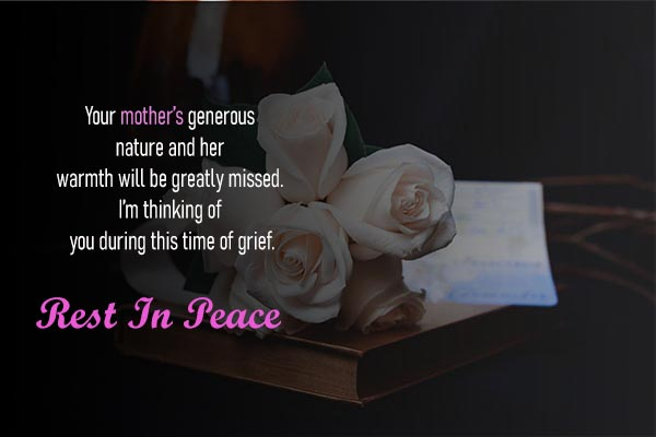 Rest In Peace Messages for Lovely Mother